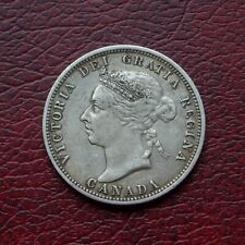 More details for canada 1901 silver 25 cents