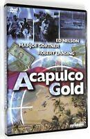 DVD ACAPULCO GOLD 1976 Thriller Ed Nelson Marjoe Gortner