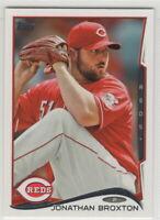2014 Topps Baseball Cincinnati Reds Team Set