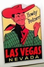 Las Vegas travel decal sticker hot rod ratrod vintage look car truck nostalgia