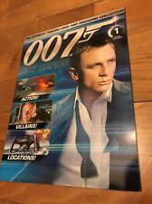 JAMES BOND 007 SPY CARDS MAGAZINE NO 1 (CARDS NOT INCLUDED) 1st Issue