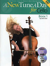 A New Tune A Day for Cello DVD CD Music Book Learn Play