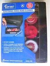 Cassetta Elettronica Videoregistratore Pulisci Testine VHS Automatica a Batterie