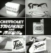 Television Toy TV Classic Commercials 1940s to 1960s all 3 Volumes on 3 DVDs