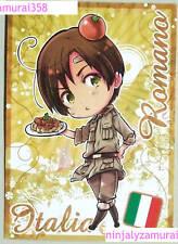 Axis Powers Hetalia promo special card Romano/Prussia