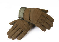 Men's Army Full Finger Gloves Tactical Hard Knuckle Outdoor Military Tactical