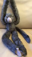 "Animal Alley Toysrus LARGE LONG LEGGED MONKEY 18"" Plush STUFFED ANIMAL Toy"