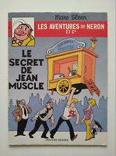 EO 1978 (très bel état) - Néron 56 (le secret de Jean Muscle) Sleen - Ed. Erasme
