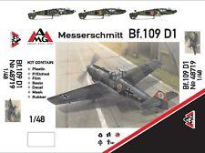 AMG Models - 48719 - Messerschmitt Bf.109 D1 - 1:48   *** NEW ***