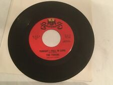 TONIGHT I FELL IN LOVE By THE TOKENS 45rpm(WARWICK) No SKIPPING! Plays Great!