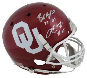 Oklahoma Baker Mayfield & Kyler Murray Signed Schutt Full Size Rep Helmet BAS