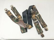 "Carhartt Suspenders Realtree Camo 46"" Long 2"" Wide (a2)"
