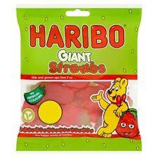 Haribo Giant Strawbs 180g X 10 Vegetarian