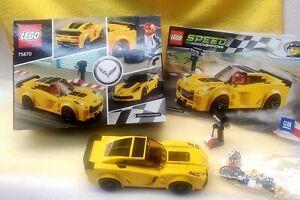 "Mint Pre-owned LEGO 75870 ""Speed Champions"" Chevrolet Corvette Z06"