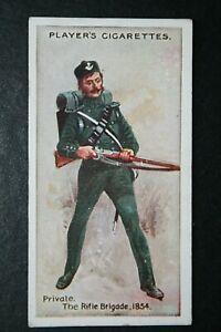 The Rifle Brigade  Private  Crimean War    Original 1912 Vintage Card