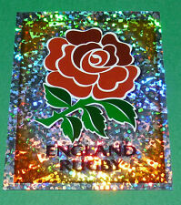 N°86 BADGE ENGLAND MERLIN IRB RUGBY WORLD CUP 1999 PANINI COUPE MONDE