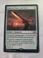 Sword of Sinew and Steel NM Mtg Modern