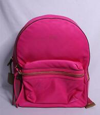 Tory Burch Women's Perry Nylon Zip Backpack MC7 Bright Pink 58039 NWT