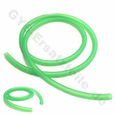 "GAS FUEL LINE HOSE GREEN 38"" 2X CLAMPS GY6 SCOOTER MOPED ATV QUAD GOKART ZNEN"