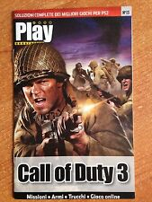 SOLUZIONI COMPLETE GIOCHI PS2 Play Generation CALL OF DUTY 3 N 13