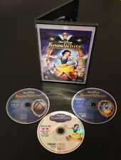 Disney SNOW WHITE AND THE SEVEN DWARFS Blu-Ray & DVD 3-Disc Diamond Edition 2009