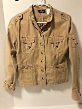 Jordache Junior Lightweight Safari Style Jacket Size L (11/13)            1-15