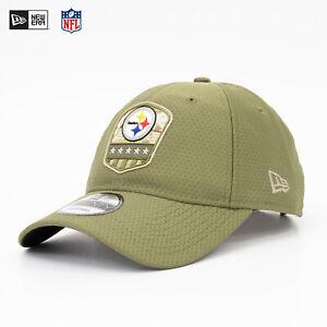 New Era 9Twenty CAP NFL Pittsburgh Steelers Salute to Service 19 Army Olive Sale