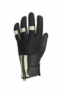 New Genuine Triumph Raven Mesh Summer Gloves MGVS18130 Multiple Sizes