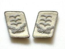 WW2 German HG Officer Collar Tabs (Hauptmann)