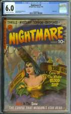 NIGHTMARE #1 CGC 6.0 OW/WH PAGES // EVERETT KINSTLER + GEORGE TUSKA ART