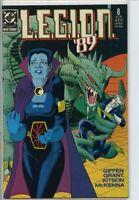 Legion 1989 series # 8 very fine comic book