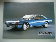 Ferrari 400 i automatic N. 246/82 Printed in Italy 3M/9/82