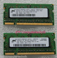 "2 GB 2x 1GB Speicher Apple MacBook 2.10 GHz 13.3"" DDR2 SODIMM 667 Mhz ReNEW"
