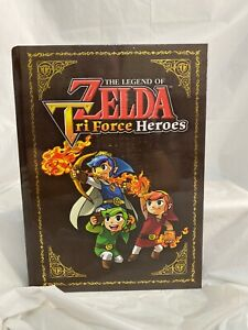 The Legend of Zelda: Tri Force Heroes Collector's Edition Guide by Prima SEALED