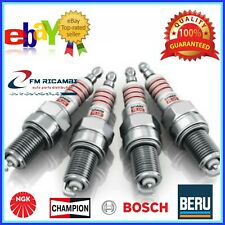 KIT 4 CANDELE ACCENSIONE FIAT TIPO 1.4 70KW 95CV DAL 2015 /> HU22SS//2