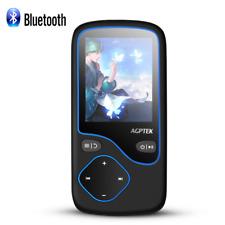 Agptek Mp3 Player Bluetooth 8Gb Portable Fm Radio Voice Recorder Support 128Gb