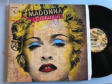 4 LP ORIGINAL  Europe!!! RARE   2009   Madonna – Celebration
