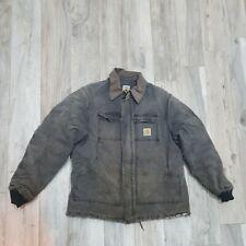 Vintage Carhartt Chore Sandstone Workers Artic Jacket Size Large