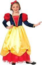 Woodland Princess Snow White Fairy Tale Fancy Dress Halloween Child Costume LARG