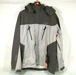 Cortech Brayker Snowmobile Jacket Silver/Gunmetal Men's Size 2XLarge XXL