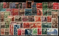 Germany Saar many stamps used in card