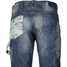 ARMANI JEANS J02 Denim Blue Low Crotch Jeans Trousers W30L W30 x 34L NEW + TAGS
