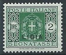 1934 LIBIA SEGNATASSE 2 LIRE MNH ** - K056