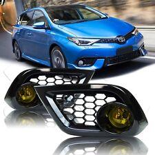 For 16 17 18 Scion Toyota IM Fog Lights w/Wiring Kit - Amber