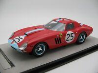 1/18 scale Tecnomodel Ferrari 250 GTO 64 Le Mans 24h 1964 TM18-96D