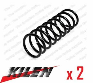 2 x KILEN FRONT AXLE COIL SPRING PAIR SET SPRINGS GENUINE OE QUALITY - 13110