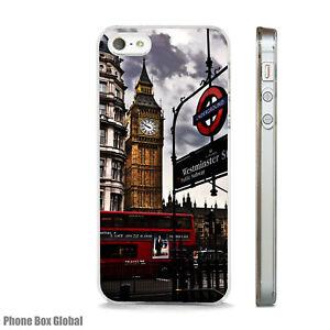 LONDON CITY WESTMINSTER PHONE CASE FITS IPHONE 4 4S 5 5S 5C 6 6S 7 8 SE PLUS X
