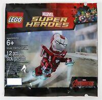 LEGO IRON MAN SILVER CENTURION ARMOR MINIFIGURE POLYBAG 5002946 - NEW & SEALED