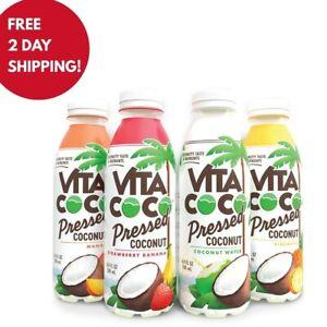 (NEW)Vita Coco Coconut Water Sampler Pack - 4 Pack