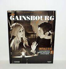 LIVRE  SIGNE GAINSBOURG AVEC CD COLLECTOR ILLUSTREE INITIALS B.B